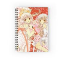 Chobits Chii & Freya Spiral Notebook