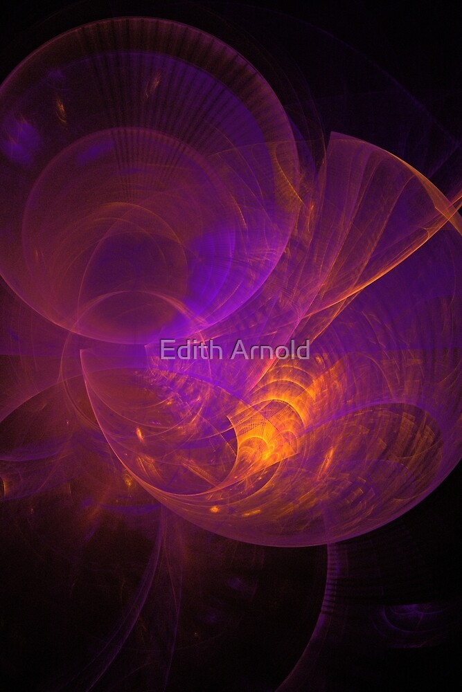 fires within(left) by Edith Arnold