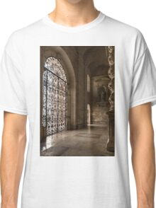 Intricate Ironwork - Lacy Wrought Iron Gates Classic T-Shirt