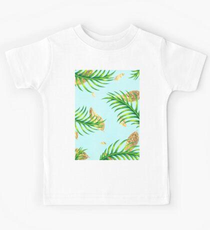 Golden Palms Kids Tee