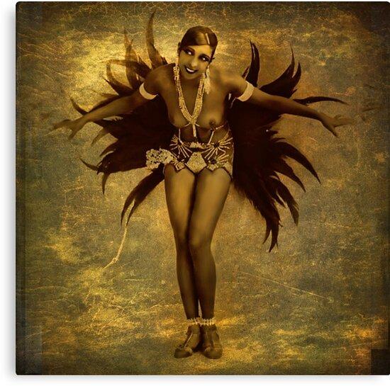 Josephine Baker by © Kira Bodensted