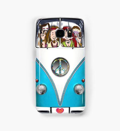 VW Hippie Van, Fully Loaded Design Samsung Galaxy Case/Skin
