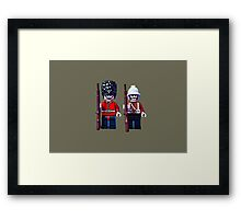 Brothers in arms by Tim Constable Framed Print