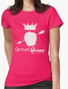 Outlaw Queen 2 Womens Fitted T-Shirt