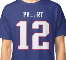 IDEAL GAS LAW - TOM BRADY, PATRIOTS, DEFLATEGATE (Blue) Classic T-Shirt
