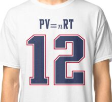 IDEAL GAS LAW - TOM BRADY, PATRIOTS, DEFLATEGATE (White) Classic T-Shirt