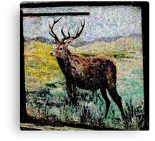 Stag Art 1 Canvas Print