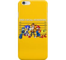 The Usual Videogames Suspects iPhone Case/Skin