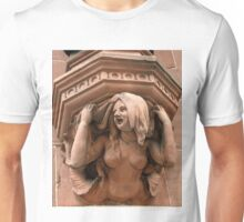 Victorian time house arts. Seen in Germany Unisex T-Shirt