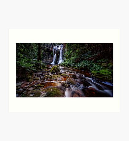 The Falls in Rainforest Art Print