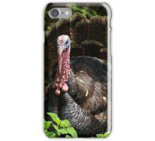 Turkey in Plants iPhone Case/Skin