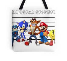 The Usual Videogames Suspects Tote Bag