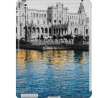Reflections of Seville - Plaza de Espana  iPad Case/Skin