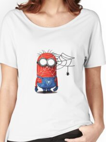 Spider man minions Women's Relaxed Fit T-Shirt