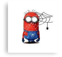 Spider man minions Canvas Print