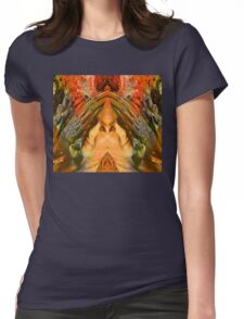Woodland Fantasy Womens Fitted T-Shirt