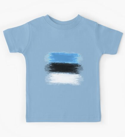 Estonia flag Tallinn Kids Tee