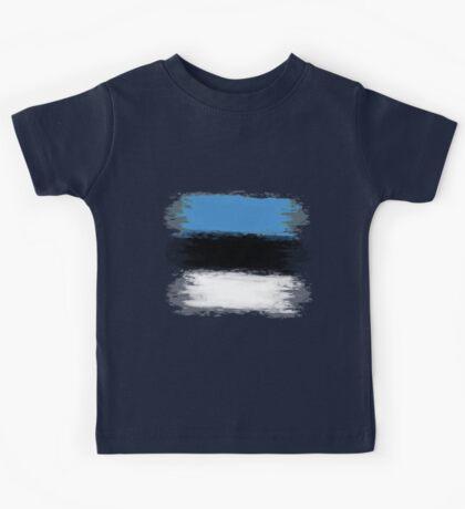 Estonia flag Tallinn Kids Tee