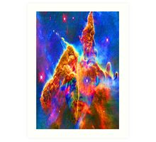 Cosmic Mind Art Print