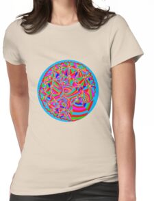Magical Trance Womens Fitted T-Shirt