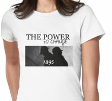 Johnlock | The Power to Change 1895 Womens Fitted T-Shirt