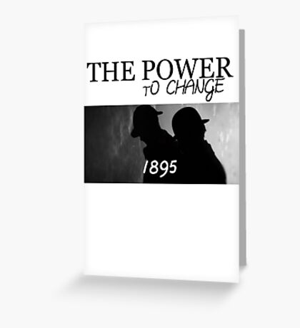 Johnlock | The Power to Change 1895 Greeting Card