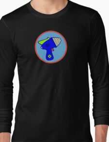 Astro Blaster Shooting Badge Long Sleeve T-Shirt