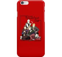 second breakfast club iPhone Case/Skin