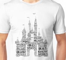 Palaces Out of Paragraphs Unisex T-Shirt