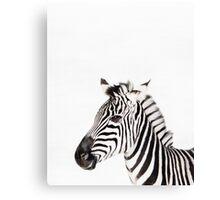 Zebra print, Nursery, Animal, Kids room, Modern art, Wall decor Canvas Print