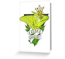 Lizard Queen  Greeting Card