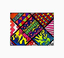 Abstract Funky Quilt Unisex T-Shirt