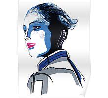 Liara T'soni Mass Effect Poster