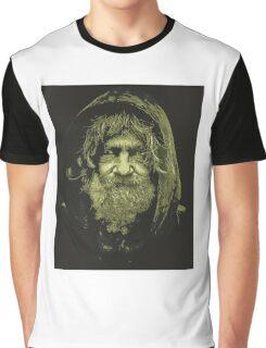 Homeless Man 3 Graphic T-Shirt