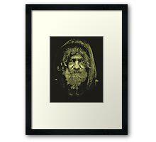 Homeless Man 3 Framed Print