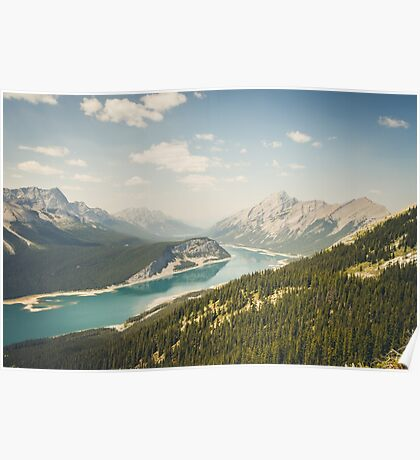Spray Lakes Poster