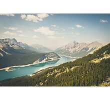 Spray Lakes Photographic Print