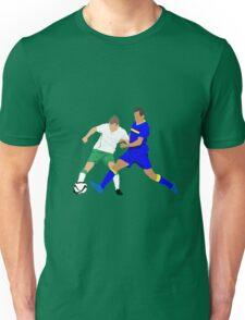 Seamus Coleman keeps Bosnia's Senad Lulic at bay Unisex T-Shirt
