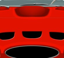 Red Ferrari 250 GTO Sticker