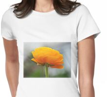 Golden Ranunculus Womens Fitted T-Shirt