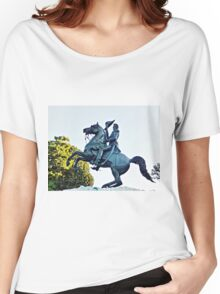 George Washington,  Women's Relaxed Fit T-Shirt