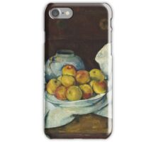 Paul Cezanne - Still Life with Commode  1887 - 1888 iPhone Case/Skin