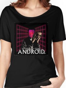 Nightmares of a Teenage Android Women's Relaxed Fit T-Shirt