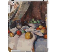 Paul Cezanne - Still Life with Apples 1895 - 1898 iPad Case/Skin
