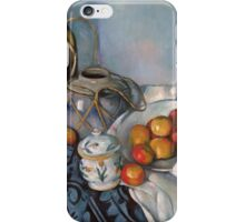 Paul Cezanne - Still Life with Apples 1893 - 1894 iPhone Case/Skin