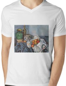 Paul Cezanne - Still Life with Apples 1893 - 1894 Mens V-Neck T-Shirt
