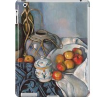 Paul Cezanne - Still Life with Apples 1893 - 1894 iPad Case/Skin