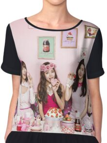 Because of You - Berry Good Groupie Chiffon Top