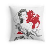 Emma Hamilton Throw Pillow