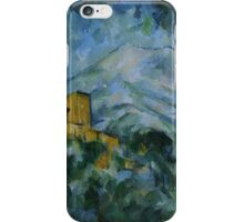 Paul Cezanne - Mont Sainte-Victoire and Château Noir 1904 - 1906 iPhone Case/Skin
